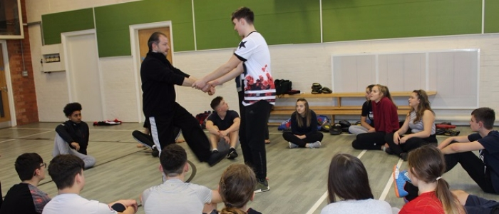 Self Defence Classes for PE Students