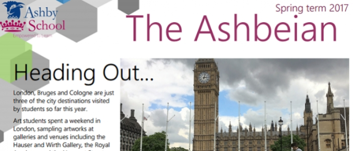 The Spring Issue of the Ashbeian is Out Now