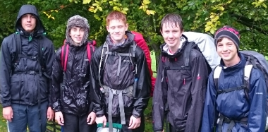 Expedition Ends in Success  - and Rain!