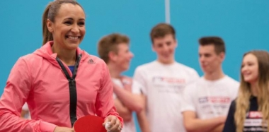 Olympian Jess Ennis-Hill Inspires Students