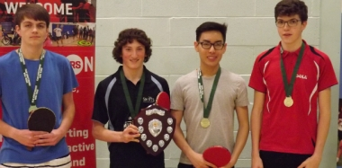 Table Tennis Team are Champs - Again!