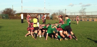 County Cup Semi Final for Under 15s After 44 - 0 Victory