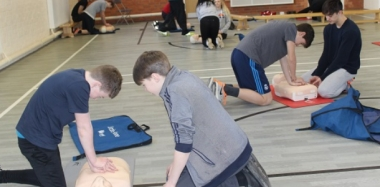First Aid Training for All Year 10 Students