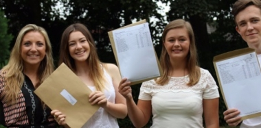 Lots to Celebrate on A Level Results Day