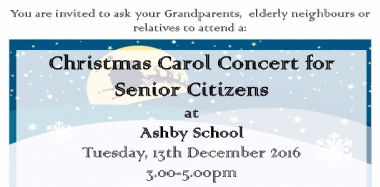 Tickets Available Now for Senior Citizens' Carol Concert
