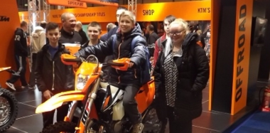 Riding High at Motorbike Show