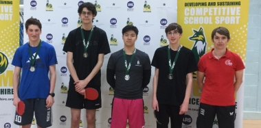 Table Tennis Team Takes Runners Up Spot