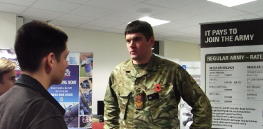Army Careers Talk on Wednesday 25 January