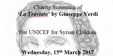 All Welcome at Charity Screening of 'La Traviata'
