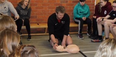 Year 10 Students Get First Aid Training