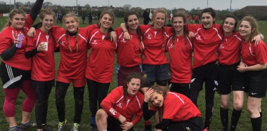 Rugby Girls Win County Cup