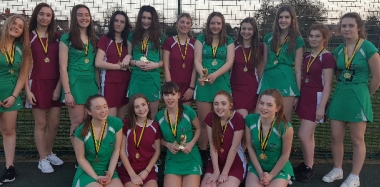 Netball Teams Celebrate Victory