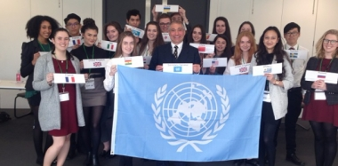 Global Issues are Tackled by Student UN Delegates