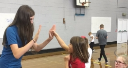 Leaders Run Sports Session for Primary Pupils