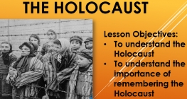Holocaust Memorial Day is Marked by Special Presentation