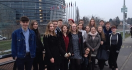 A Day at European Parliament for Language Students