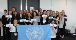 Students Become UN Delegates for a Day