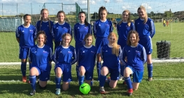 Footballers Net Second Place in County Final
