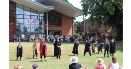 School Celebrates 450th Anniversary