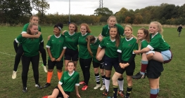 Winning Start for Girls' Rugby Team