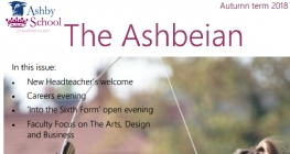 The Autumn Issue of the Ashbeian is Available to Read Now