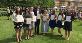 Gold for Staff and Students at the Palace