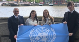 London Trip Sheds Light on Work of UN