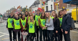 Sixth Formers Share the Fun of the Fair