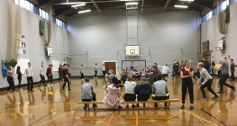 Dodgeball Kicks Off House League