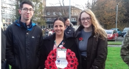 Sixth Formers Mark Remembrance in Town