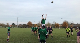 Sixth Form Rugby Players Fight Hard in County Cup