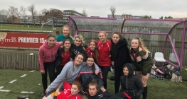 Girls Try and Try Again at Rugby Festival