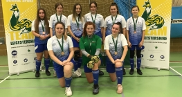 Futsal Girls Shine at County Finals
