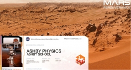 Ashby School Lands on Mars!
